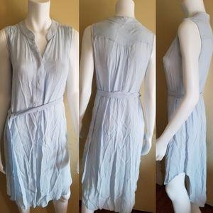 Cabi Women's S Medium Baby Blue Breeze Tunic Dress